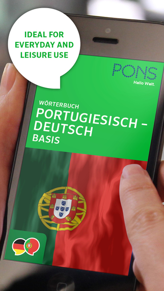 Dictionary Portuguese - German BASIC by PONS