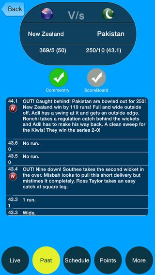 IPL 2015 Cricket Fever Live Score with Full scrorecard pro