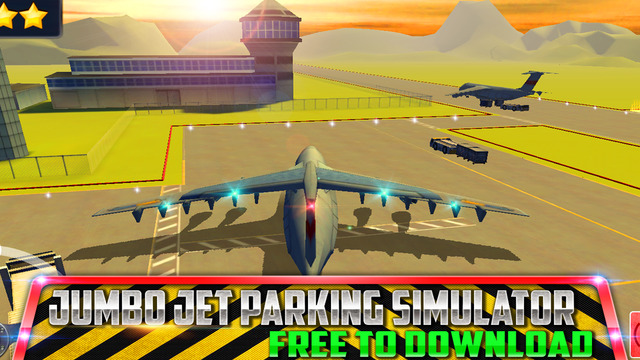 Jumbo Jet Flight School : Airport Parking