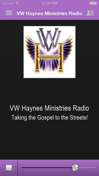 VW Haynes Ministries Radio