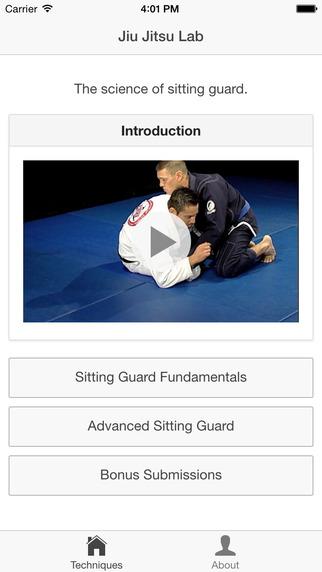 Jiu Jitsu Lab Sitting Guard