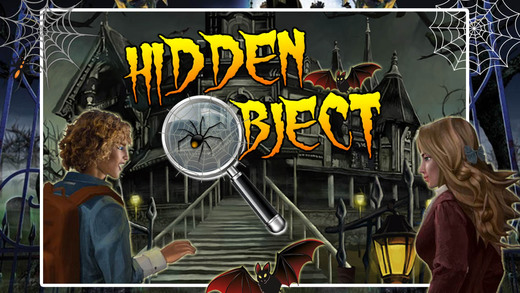 Hunted House The Dark Manor Ghost Hidden Objects Find The Difference