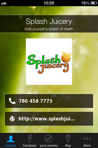Splash Juicery screenshot 1