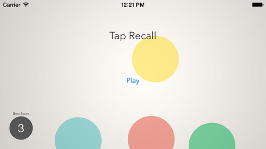 Tap Recall