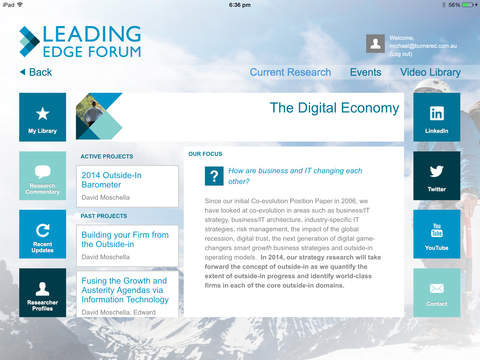 Leading Edge Forum