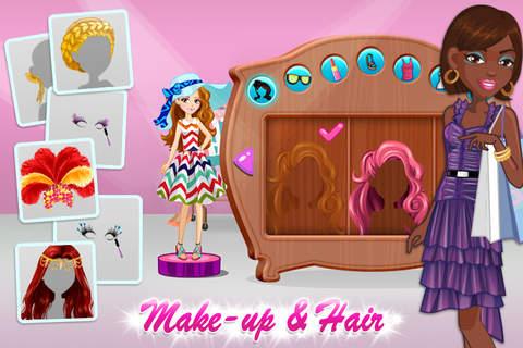 Screenshot 2 Shopaholic World: Dress Up Shopping & Hair Salon Makeover