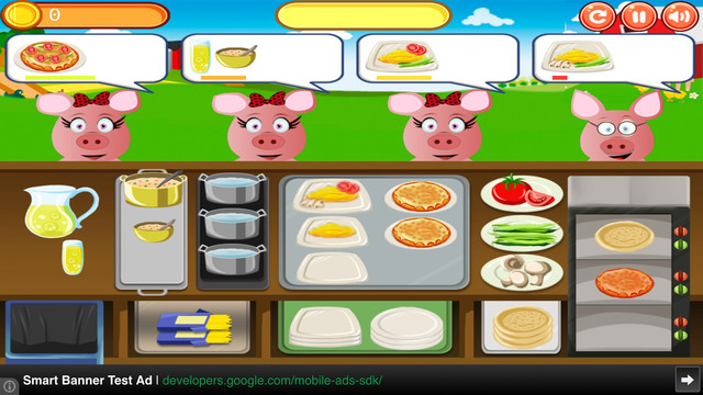 Cook Game: Little Pig Dash