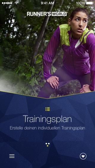 RUNNER'S WORLD Lauftrainer
