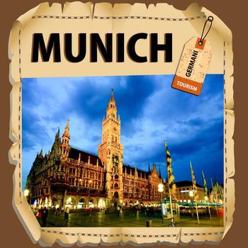 Munich Travel Guide - Offline Map LOGO-APP點子