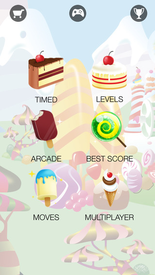 Candy shake - tasty puzzle game