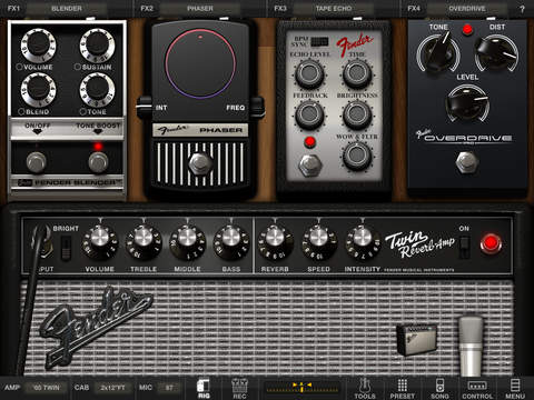 AmpliTube Fender™ for iPad