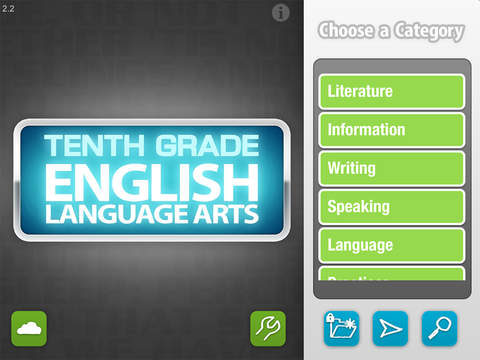 English Tenth Grade - Common Core Curriculum Builder and Lesson Designer for Teachers and Parents