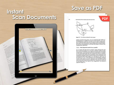 Doc Scan HD - Scanner to Scan PDF Print Fax Email and Upload to Cloud Storages