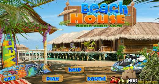 Beach House - Free Hidden Object Games