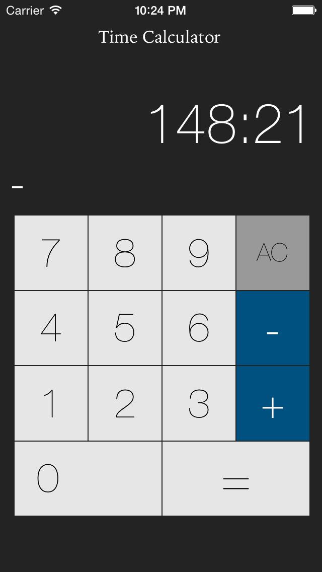 калькулятор времени скачать