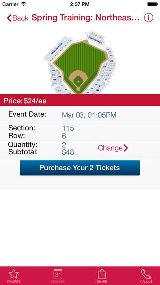 Seacoast Ticket