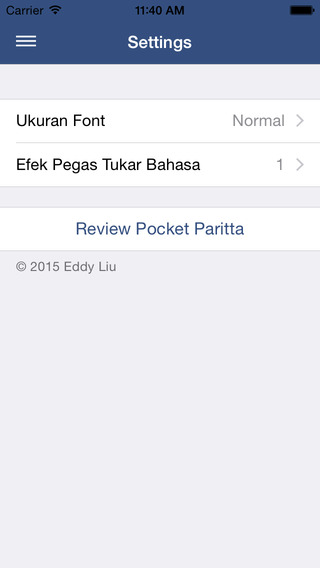 Pocket Paritta - ITBC Version
