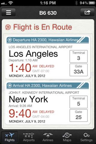 The Flight Tracker Pro screenshot 4