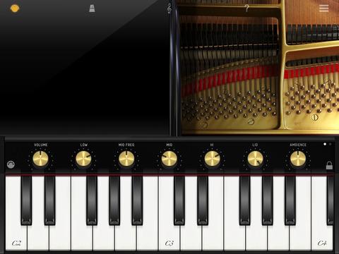 iGrand Piano for iPad Screenshot