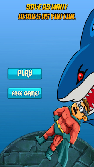 Deep 6 Cape Hero – Big Jump Over the Angry Shark Adventure Paid
