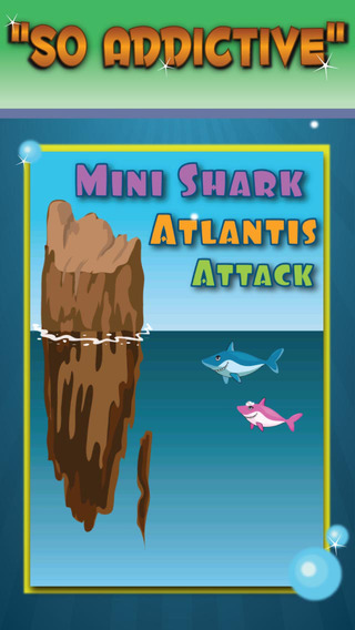 Mini Shark Attack - Avoid Great White and Eat Ocean Fish Simulator: FREE Arcade Game