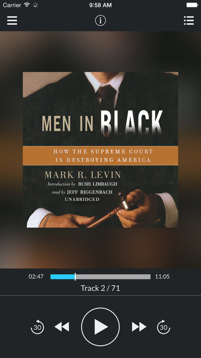 Men in Black: How the Supreme Court Is Destroying America by Mark R. Levin UNABRIDGED AUDIOBOOK