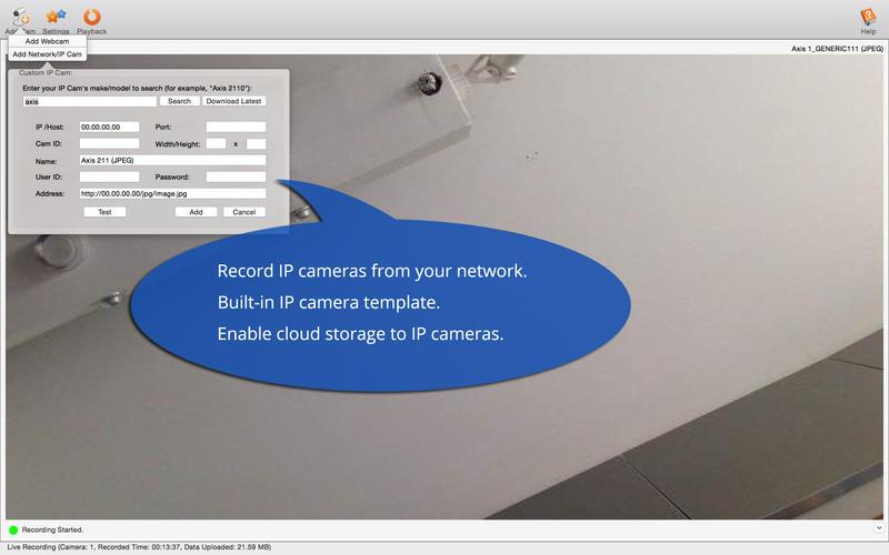 DVR.Webcam Screenshot - 5