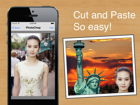 photochop - chop photos to make crazy pics!. Screenshots