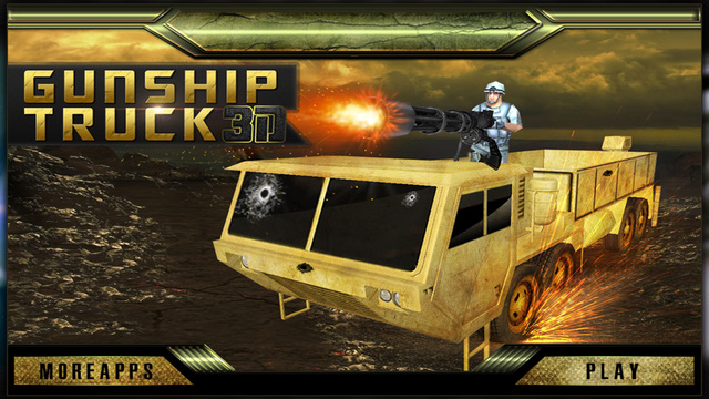 Army Truck Driver 3D Desert Battle