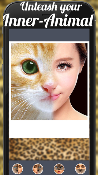 Blend Animal Face Effect Pro - Funny Lol Face Maker Image Editing App For Instagram