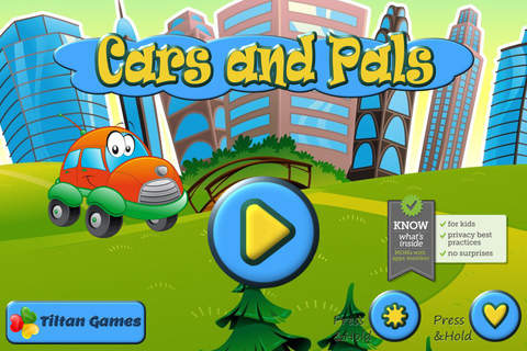 Screenshot 1 Cars and Pals: Car Truck and Train Jigsaw Puzzle Games for Kids and Toddler