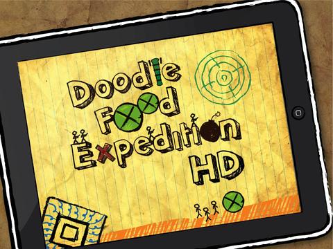 Doodle Food Expedition iPad Screenshot 1