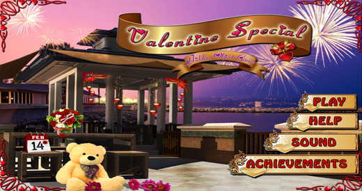 Valentine Special - Free Hidden Object Games