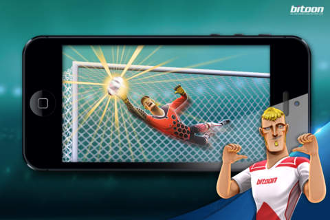 Penalties and Soccer– Player or Goalie? Kicks! Football Warriors screenshot 2