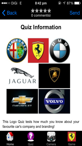 Logo Car Quiz