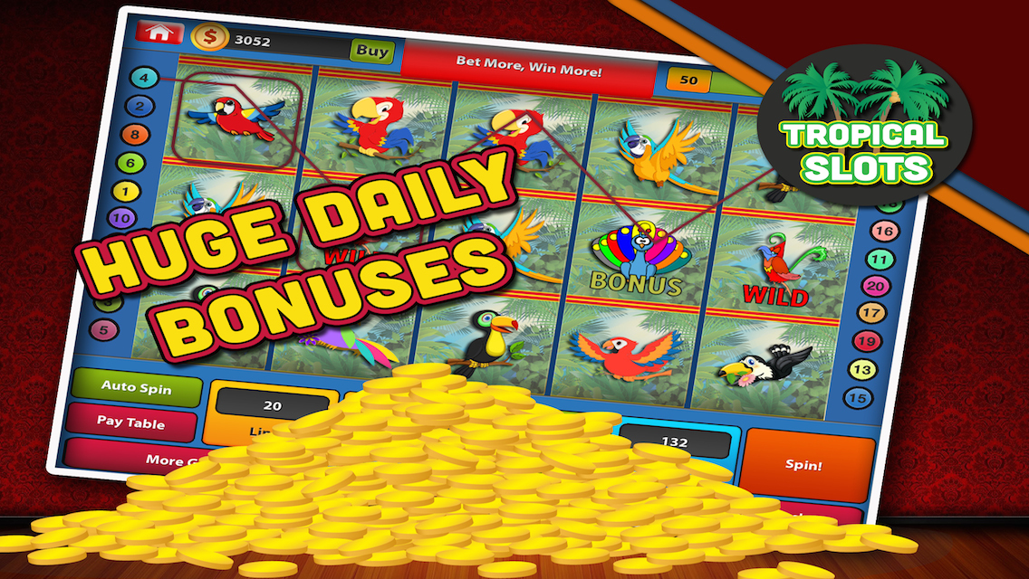 Tropic Paradise Slots - Play PlayPearls Games for Fun Online