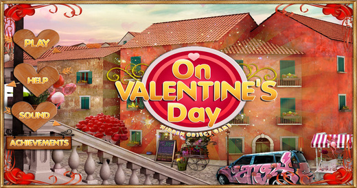 On Valentines Day - Free Search find concealed and hidden objects with your love