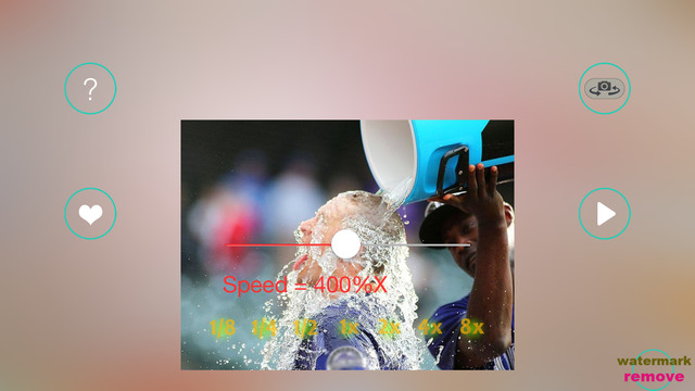 Slow Motion Fast Motion VCR --- Video Tools for Ice Bucket Challenge