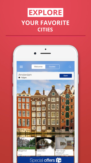 Amsterdam - your travel guide with offline maps fr