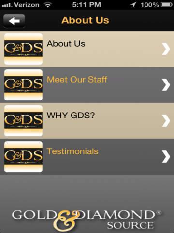 Gold and Diamond Source screenshot