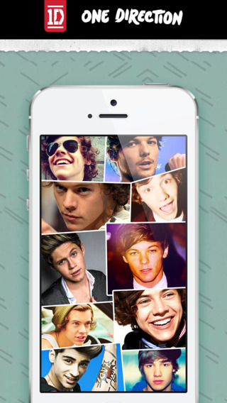 Wallpapers for One Direction - One Direction Themes and Skins for iPhone iPod and iPad