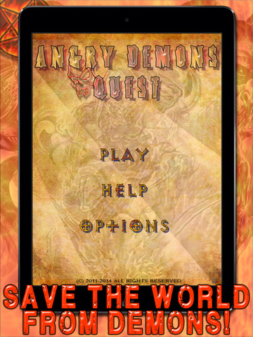 Angry Demons Quest HD - A Fun Horror Puzzle Game