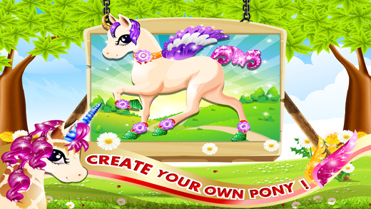 A Magic Pet Pony Horse World - Dress Up Your Cute Little Pony Pro