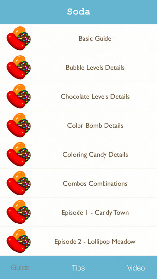 Guide Video Tips for Candy Crush Soda Saga - Full strategy walktrough