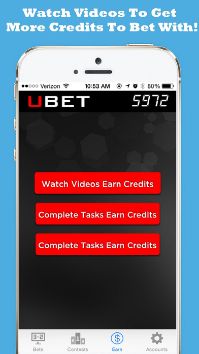 Ubet-Free Sports Betting Live Odds & Now Weekly Contests & Pools! screenshot