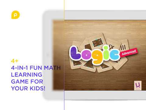 Logic Advanced – learn addition subtraction multiplication and basic geometry shapes