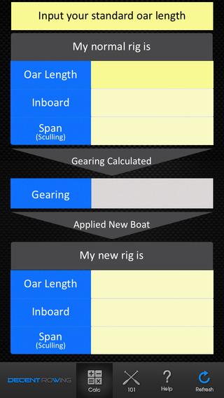 New boat Which Oars