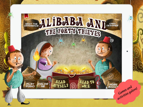 Alibaba and The Forty Thieves for children by Story Time for Kids