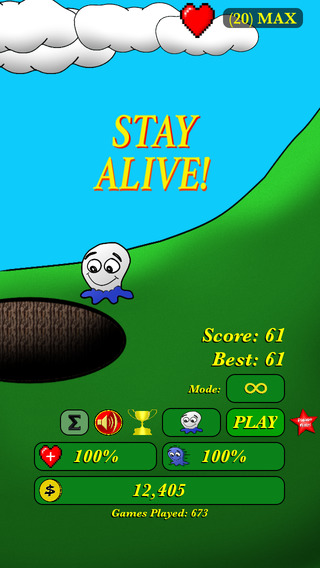Stay Alive - Play Free Quick Game with Tap Fast Action