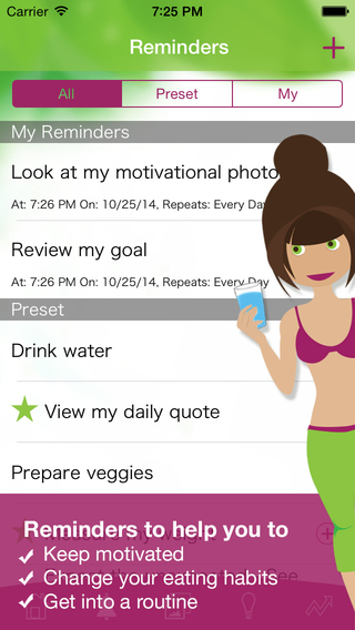 ... Weight loss motivation for women & calorie counter - FREE on the App